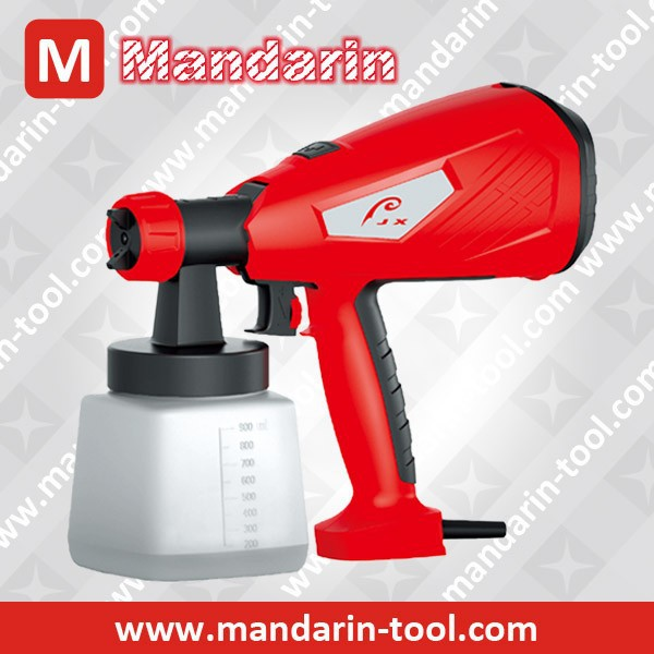 Best selling portable handheld HVLP paint spray gun 500W