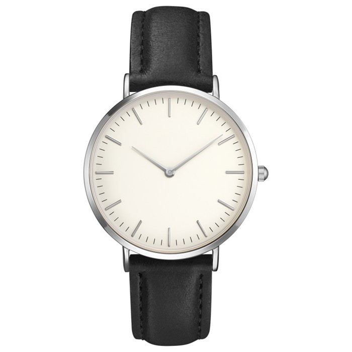 LongBo western wrist watches water resistan blank face white colour watches