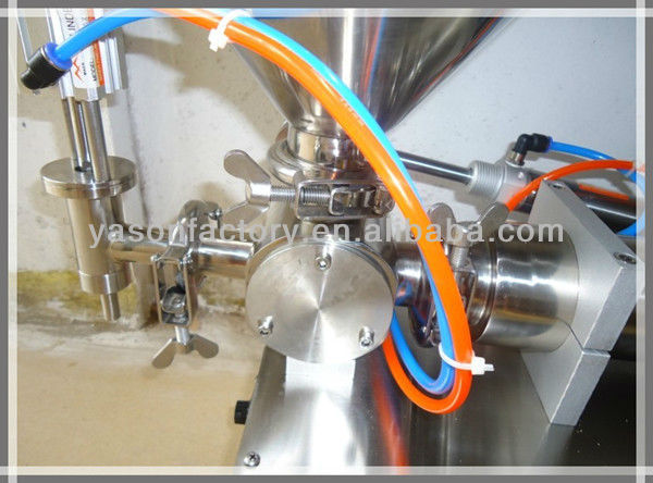 Stainless Steel Semi-Automatic Liquid And Paste Filling Machine