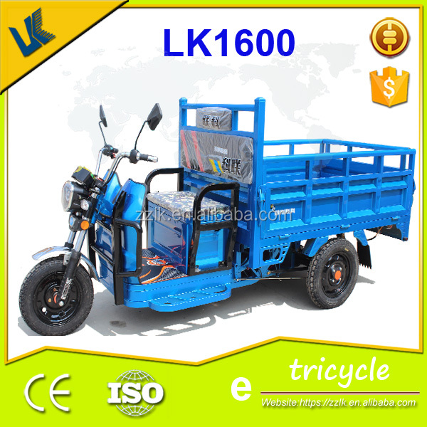 1000W cheaper China adult electric cargo tricycle rickshaw
