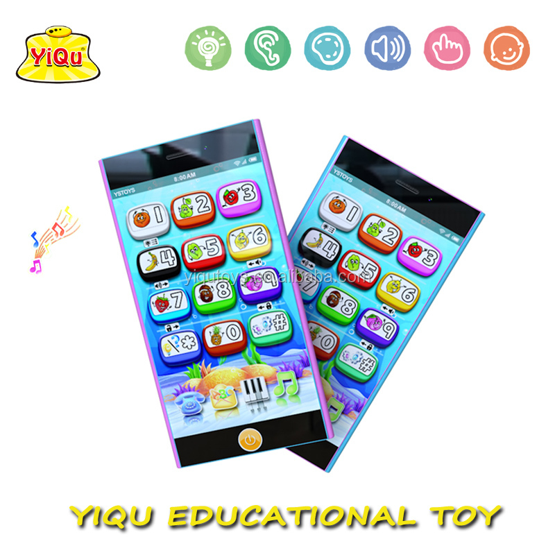 Educational mobile phone toys Music Baby Learning Machine Kids Learning Phone Toy Studying mobilephone for babies