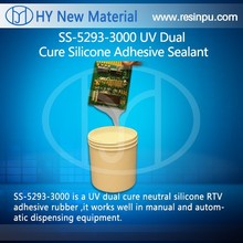 UV Dual Cure Silicone Adhesive Sealant with high adhesive property