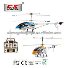 3.5CH alloy high speed outdoor strong structure rc helicopter with gyro