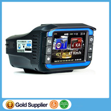 "(Russian Language) 3 IN 1 Car DVR Camera Radar Detector STR8500 Built-in GPS Logger 2.0""LCD HD 720P 140 Angle Video Recorder"