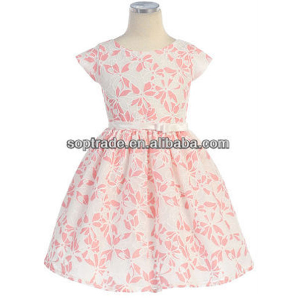 Kids Party Wear Dresses for Girls Flower Lace Girl Dresses 2016