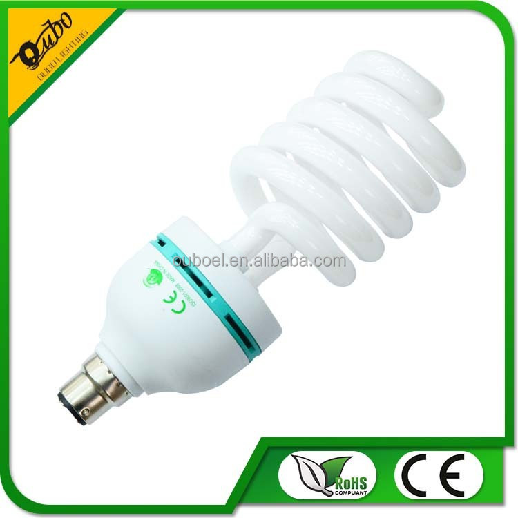 Hangzhou 75w Torch half spiral energy saving lamp economic lights bulb