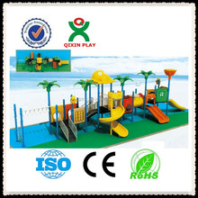 Plastic out door play equipment/outdoor playground nursery equipment China QX-11022B