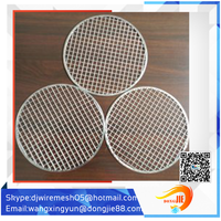 circle/ rectangular barbecue grill wire mesh