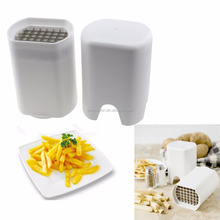 New Brand Perfect Fries One Step French Fry Cutter Potato bar Chips Slicers Popular