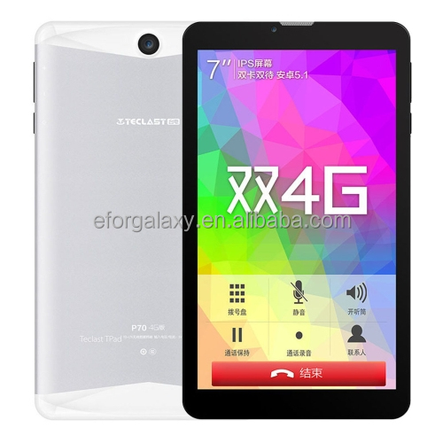 Drop Shipping One Year Warranty Teclast P70 4G Calling <strong>Tablet</strong>, 7 inch, 1GB+8GB Android 6.0 OS, MT8735M 64-bit 1.0GHz <strong>Tablet</strong> PC