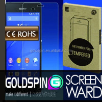 GOLDSPIN 9H Tempered Glass Screen Protector For Sony Xperia Z1 L39H