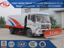 Dongfeng truck mounted snow blowers road sweeper car manufactory direct saling