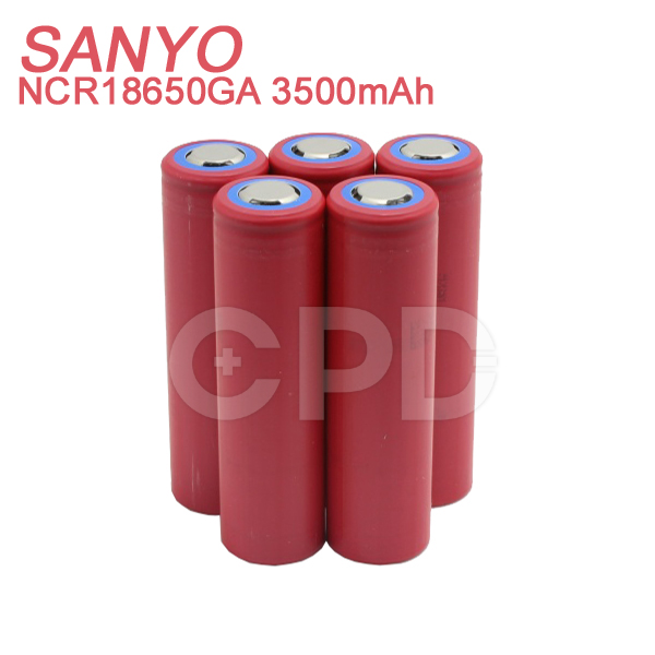 E-Cigarette Battery Vapor Mod for Original Sanyo 3500mAh 3.7V NCR18650GA Li-ion Battery for eGo AIO D22 Kit