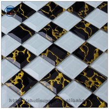 wholesale Mixed Color Glass mosaic for bathroom wall tile