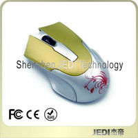 New 2.4g receiver driver wireless usb pc mouse 3D and 6D