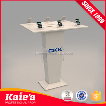 Retail phone cabinets display mobile phone shops, mobile phone store display design
