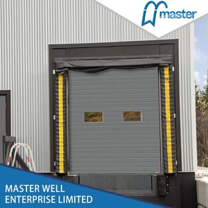 Lift Automatic Steel Sectional Industrial Door Manufacture Wuxi
