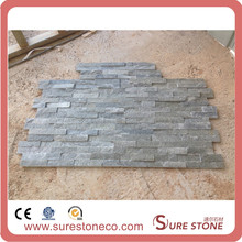 Walls decorative natural grey slate stone cladding