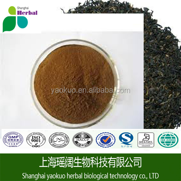 China seeds instant black tea extract powder