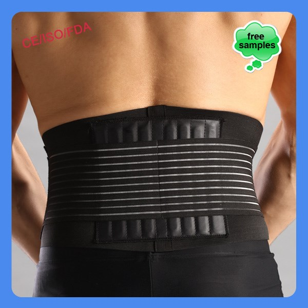 Designed neoprene magnetic waist support