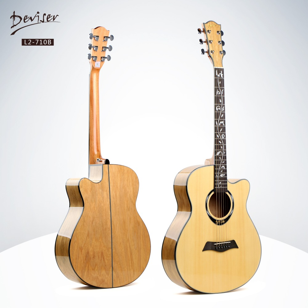Deviser hot sale cheap high quality musical instruments hollow body guitar kit made in China