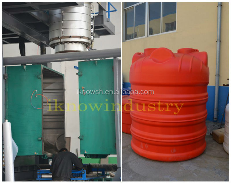 plastic water tank making mould and machine