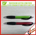 Promotional Green & Red Printed Ballpen