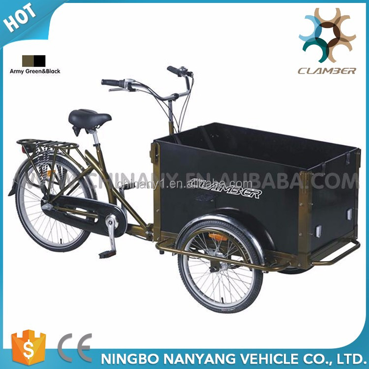 3 wheel nexus 3 speeds cargo bike/tricycle for adults UB9005