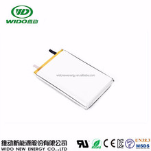WIDO rechargeable li-ion battery 3.7v 7500mah 8460110 lipo battery for tablet pc power bank