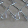 Hot dipped galvanized brown chain link fence for industrial property
