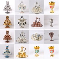 Home Furnishing, bar decoration, banquet dining classical zinc alloy drinkware