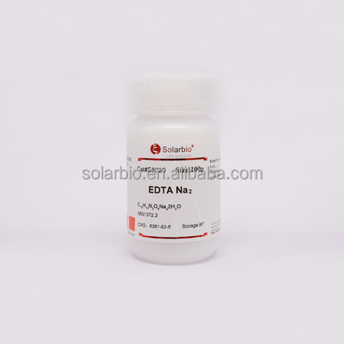 High Purity Reagents EDTA Disodium Salt Dihydrate, CAS 6381-92-6