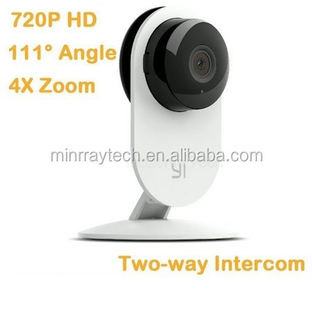 2015 New Xiaomi YI Camera Yi Camera 720P HD Wireless Camera Support Two Way Intercom 4x Zoom Len