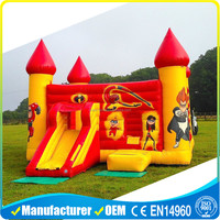 2016 popular design inflatable bouncer house bouncy castle game inflatable cartoon bouncerinflatable jumpe for kids