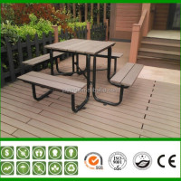 Outdoor Cheap Waterproof Plastic Bench Chair