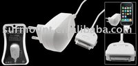 Wall AC Charger Adapter for iPod Apple for iPhone 3G German Plug