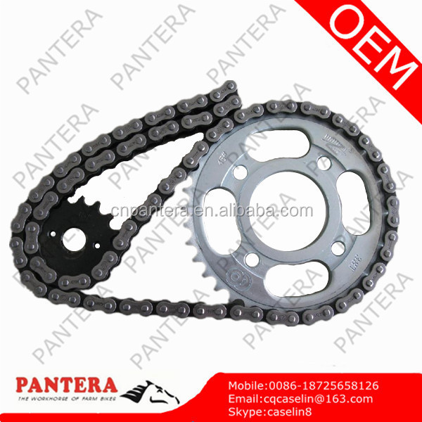 Chinese CBX200 Dirt Bike Motorcycle Chain and Sprocket