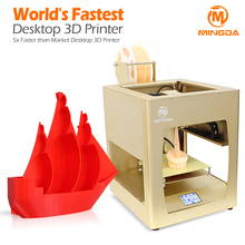 Direct Manufacturer Metal Frame 3D Printer, Printing Flexible Material 3d printer machine, personal use 3d printer with SD card