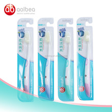 NANO toothbrush TPU disposable toothbrush head dupont tynex nylon toothbrush