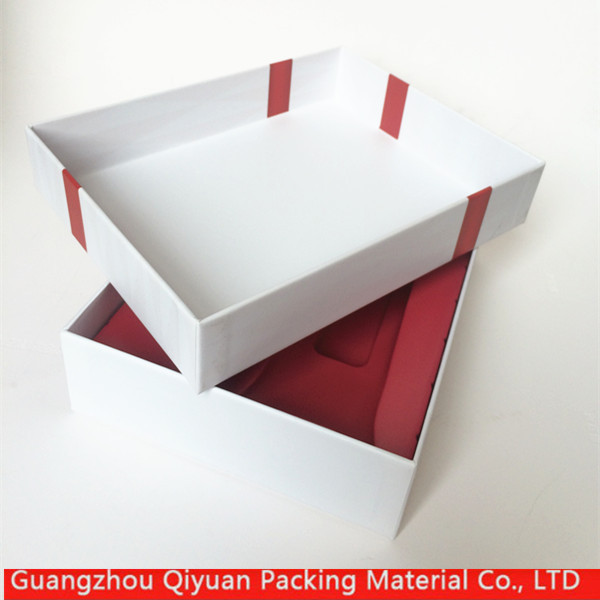 New products China manufacturer small luxury gift box scarf packaging