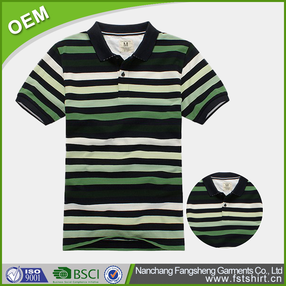 Cotton quick dry short sleeve batik polo shirt