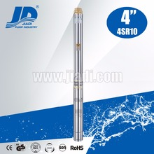 centrifugal high lift water vertical multistage stainless steel submersible pump