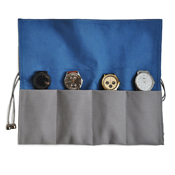 Professional high quality leather watch roll
