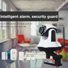 GSM/3G WIFI Video Camera alarm system wifi smart socket control home appliance wifi alarm system