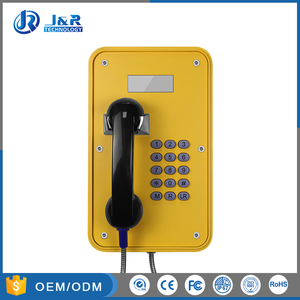 Hazardous area telephones,Rugged Emergency VOIP Telephone,weatherproof telephone with LCD Display