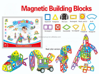 Hotest Sluban Magnetic building block ABS plastic amazing toys construction toys for adults