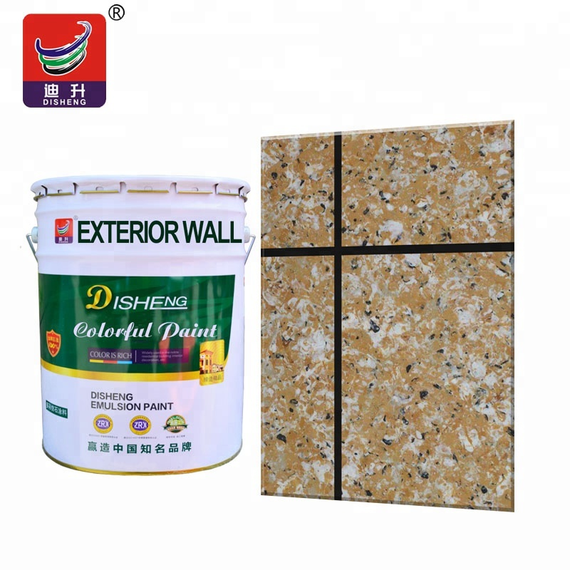 Wholesale high quality colorful granite <strong>paint</strong> for external wall spray stone effect coating <strong>paint</strong> manufacturer in building