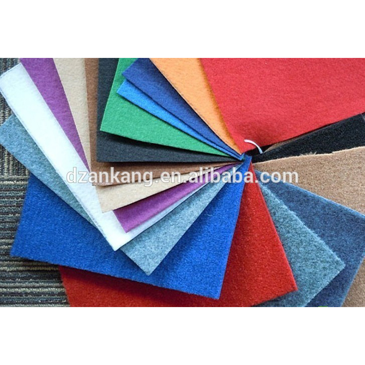 Alibaba china crazy Selling nonwoven printed exhibition carpet