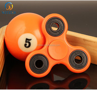 plastic high speed hand spinner fidget toy