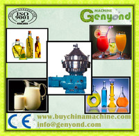 automatic Virgin Coconut Oil Centrifuge Vertical type 3-phase separation disc rotate oil separator for coconut/purifier